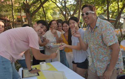 OSS holds International Food Fair, tree planting