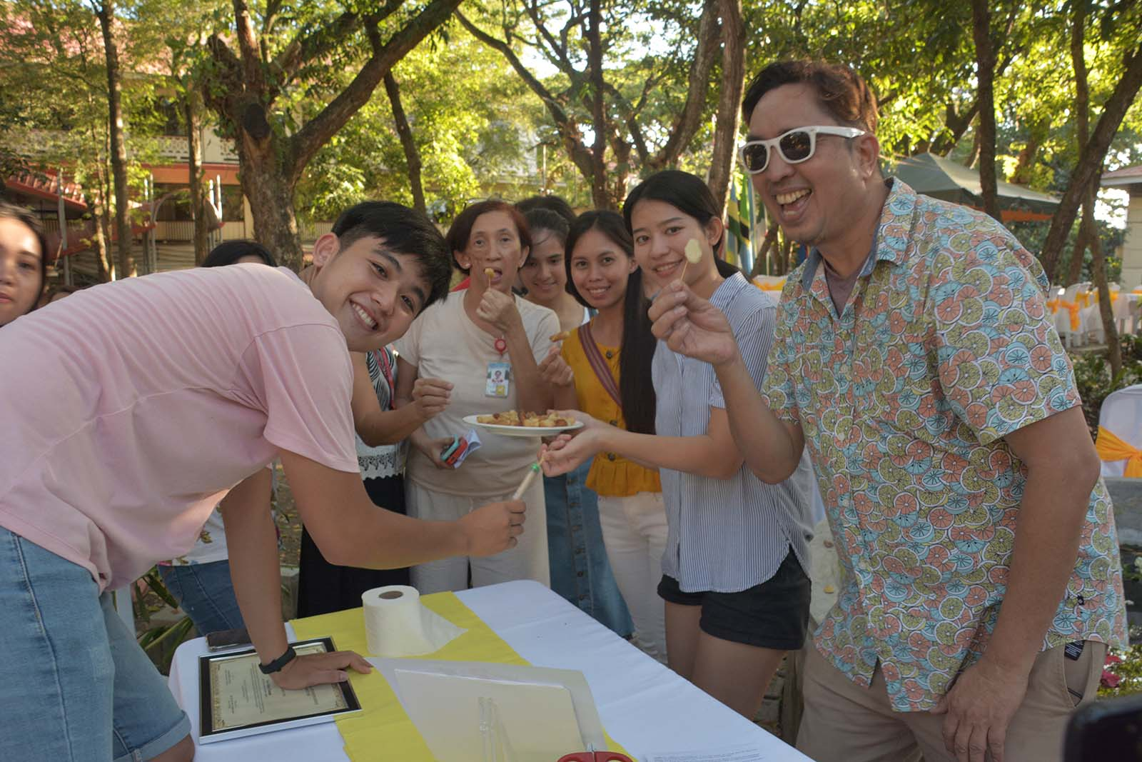 OSS holds International Food Fair, tree planting