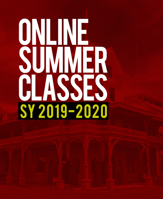 Announcement: Online Summer Classes for SY 2019-2020