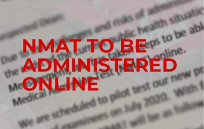 NMAT to be administered online