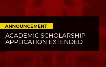 Academic Scholarship application extended