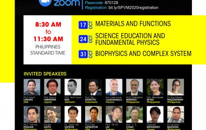 22nd SPVM National Physics Conference: ConVIRTUALisation