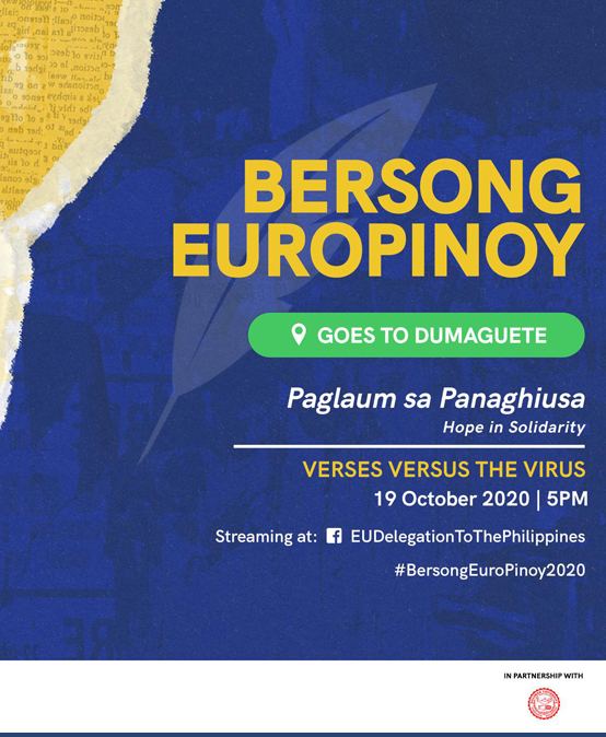 """Bersong EuroPinoy Paglaum ug Panaghiusa (""""Hope in Solidarity"""")goes to Dumaguete"""