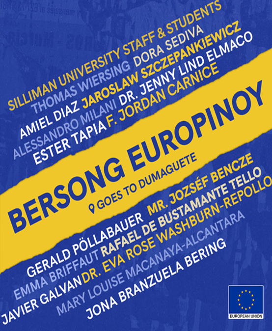 SU welcomes Bersong EuroPinoy to Dumaguete