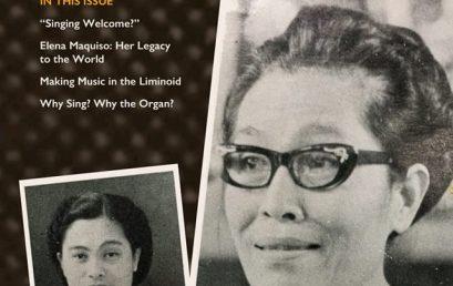 Int'l Hymn Society Journal honors Elena Maquiso's legacy