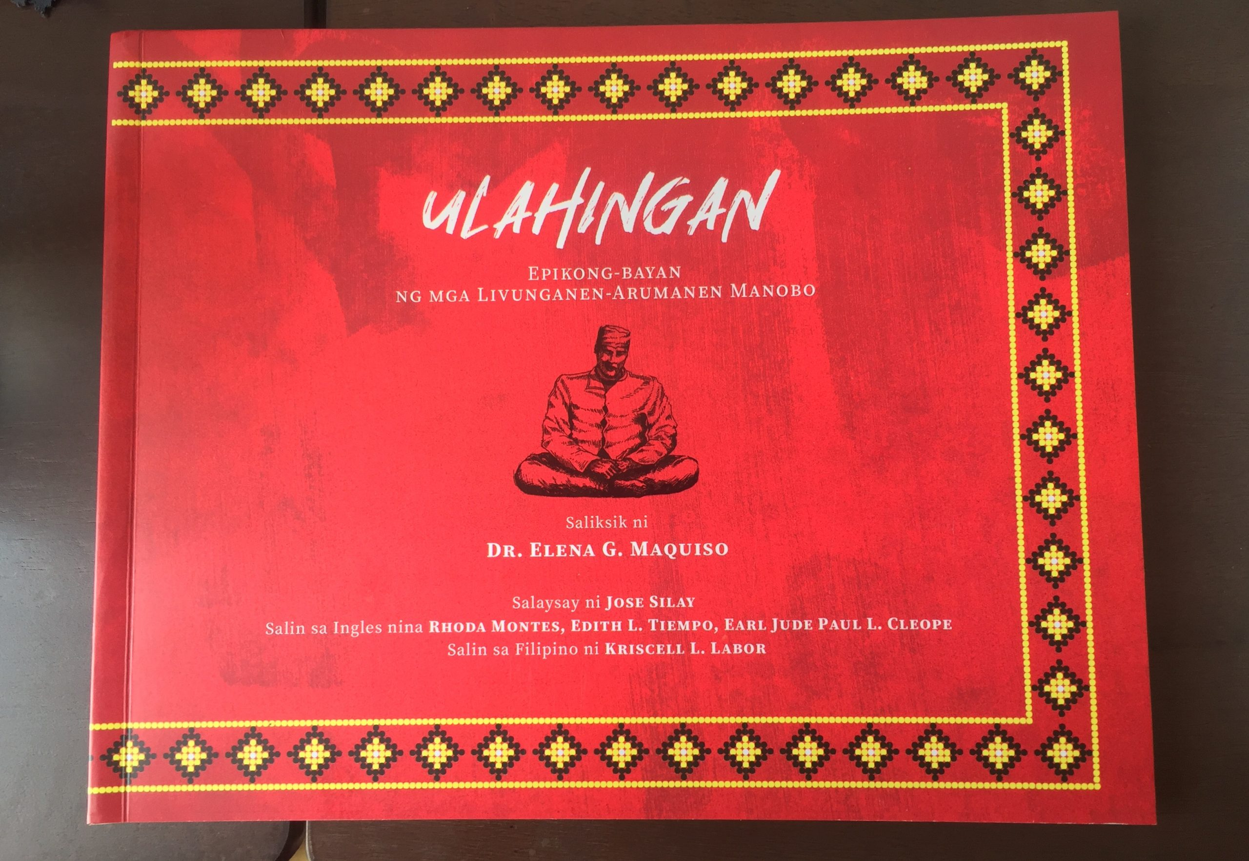 SU research on Manobo epic gets translated to Filipino by NCCA