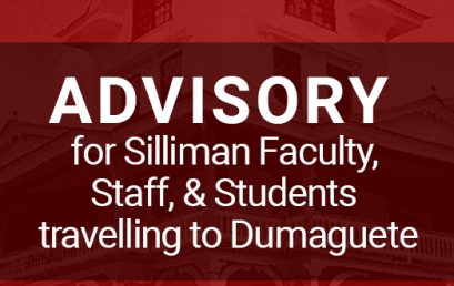 Advisory for Silliman Faculty, Staff, & Students Travelling to Dumaguete