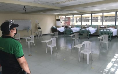 SU undergoes CHED, DOH inspection for limited face-to-face classes
