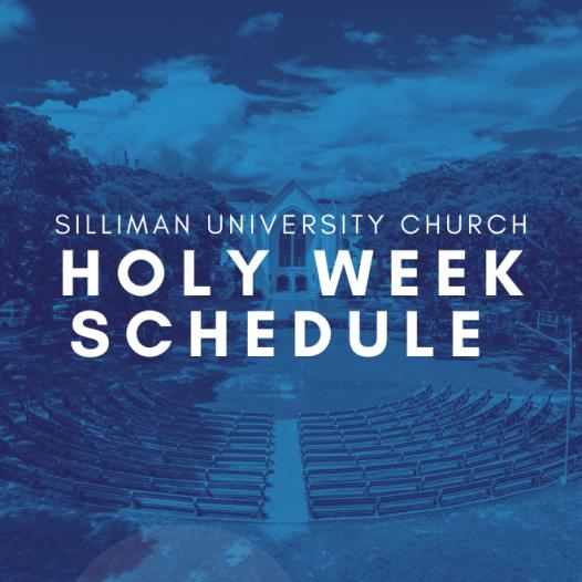 SU Church Holy Week Celebration Schedule