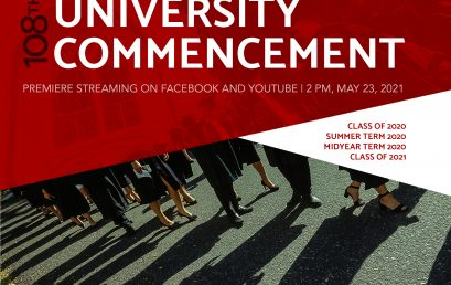 SU holds first virtual graduation for Class of 2020 and 2021