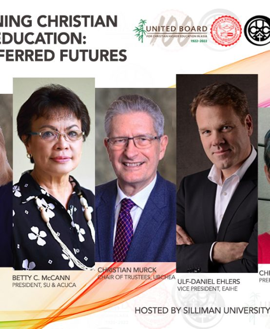 Joint Virtual Consultation of the Association of Christian Universities and Colleges in Asia, Silliman University, and United Board for Christian Higher Education in Asia