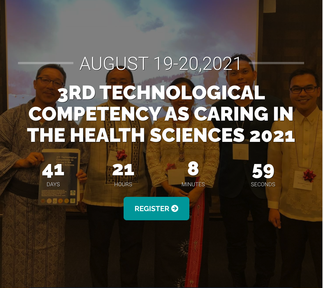 3rd Technological Competency as Caring in the Health Sciences 2021