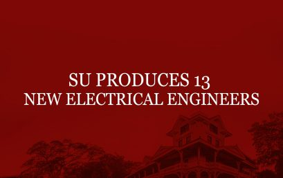 SU produces 13 new electrical engineers