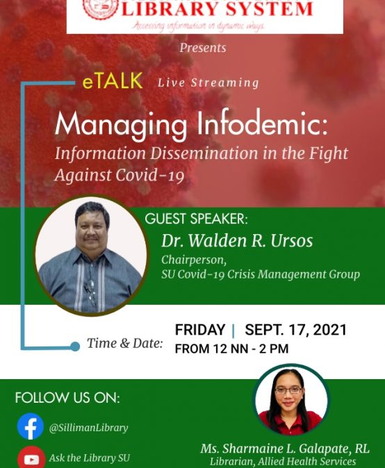 Managing Infodemic: Information Dissemination in The Fight Against Covid-19