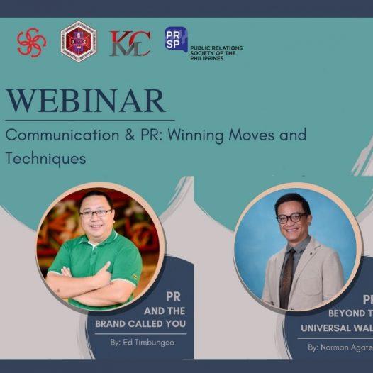 CMC to host webinar on public relations