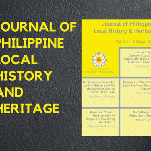 VPAA's paper on NegOr during WW2 gets published by NHCP